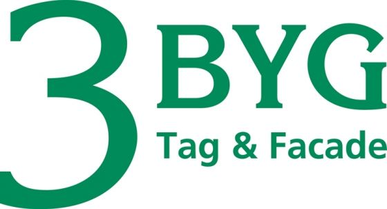 3-BYG Tag og Facade logo