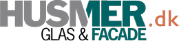 Husmer Glas og Facade logo